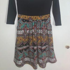 Anthropologie Dresses - Anthropologie Maeve Fit & Flare Tribal Dress